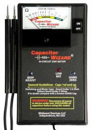 Capacitor Wizard ESR Meter for all Electronic Technicians.